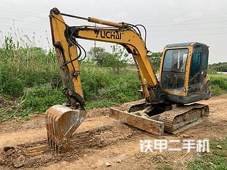 二手玉柴 YC60-8 挖掘机转让出售
