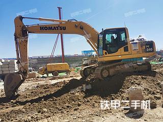 保定小松PC200-8M0挖掘机实拍图片