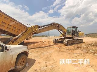 德宏神鋼SK350LC挖掘機實拍圖片