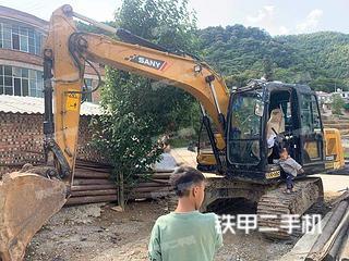 三一重工SY115C挖掘机实拍图片
