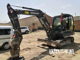 蘭州沃爾沃EC55D挖掘機實拍圖片