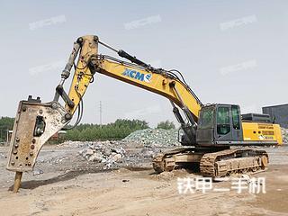 日照徐工XE490D挖掘机实拍图片