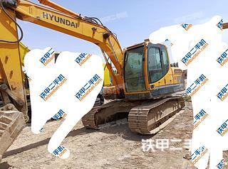 现代R150LC-9挖掘机实拍图片