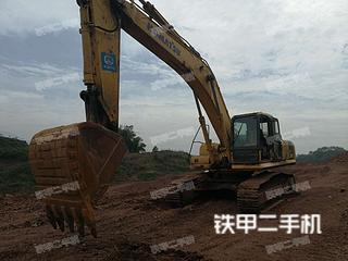 四川-眉山市二手小松PC360-7挖掘机实拍照片