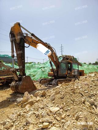 淄博三一重工SY365C挖掘机实拍图片