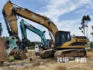 广东-湛江市二手卡特彼勒345CL挖掘机实拍照片