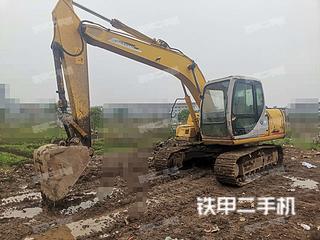 住友SH120-3挖掘机实拍图片