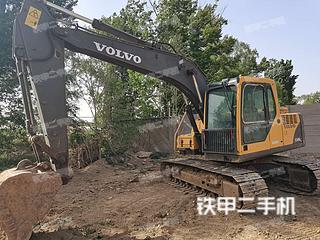 大興沃爾沃EC140BLC挖掘機實拍圖片