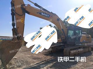 三一重工SY365H挖掘机实拍图片