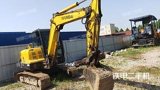 二手现代 R55-7 挖掘机转让出售