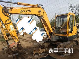 山重建机JCM906D挖掘机实拍图片