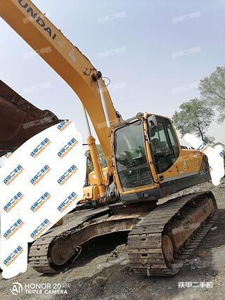 現代R275LC-9T挖掘機實拍圖片