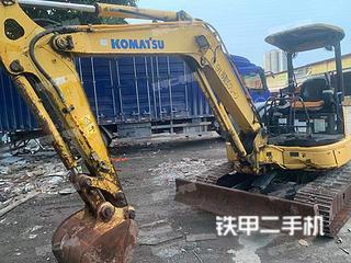 广东-广州市二手小松PC40MR-2挖掘机实拍照片
