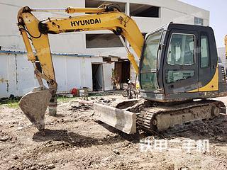 淮安現代R80-7挖掘機實拍圖片