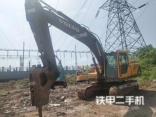 瀘州沃爾沃EC210B挖掘機實拍圖片
