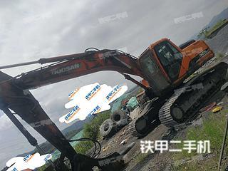 婁底斗山DH225LC-7挖掘機實拍圖片