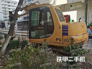 萊蕪小松PC60-7挖掘機實拍圖片