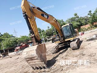 卡特彼勒323D2L挖掘机实拍图片
