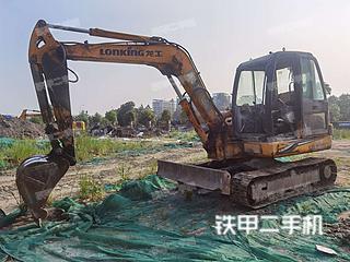 龙工LG6060挖掘机实拍图片
