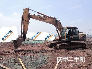 宜賓現代R225LC-9T挖掘機實拍圖片