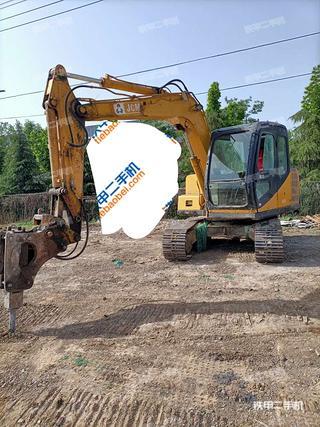 山重建机907B挖掘机实拍图片