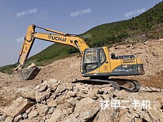 臨沂玉柴YC210LC-8挖掘機實拍圖片