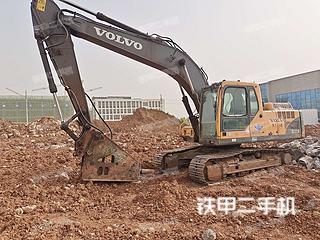臨沂沃爾沃EC210B挖掘機實拍圖片