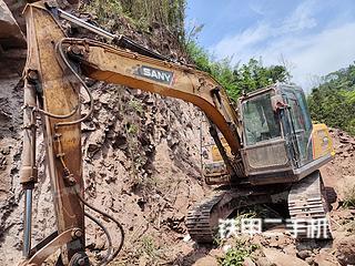 宜賓三一重工SY155H挖掘機實拍圖片