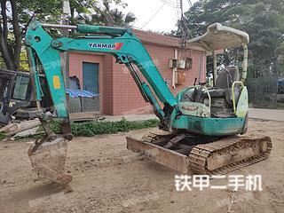 洋馬Vio30-2挖掘機實拍圖片