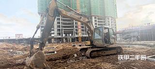住友SH120C2挖掘机实拍图片