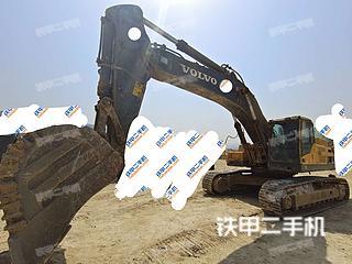 邯鄲沃爾沃EC480DL挖掘機實拍圖片