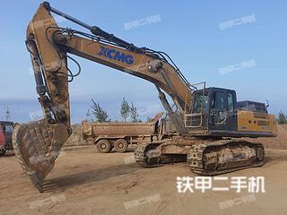 徐工XE490D挖掘机实拍图片