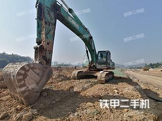 神钢SK350LC-8挖掘机实拍图片