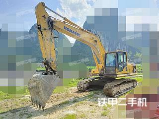 小松PC210LC-8挖掘機實拍圖片