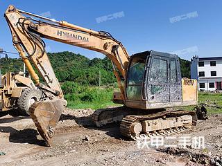 二手现代 R110-7 挖掘机转让出售