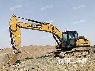日照三一重工SY245H挖掘机实拍图片
