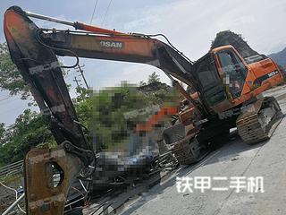 湖南-娄底市二手斗山DH215-9E挖掘机实拍照片