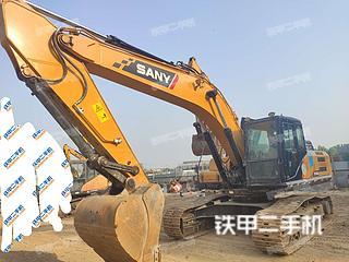 郑州三一重工SY245H挖掘机实拍图片