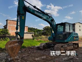 长春山河智能SWE150E挖掘机实拍图片