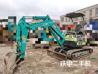洋馬VIO30-5B挖掘機實拍圖片