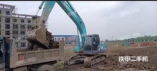 淮安神鋼SK200超8挖掘機實拍圖片