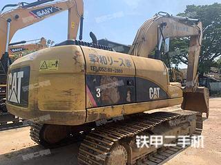 卡特彼勒320D-E挖掘机实拍图片