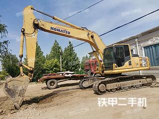 保定小松PC240LC-8挖掘机实拍图片