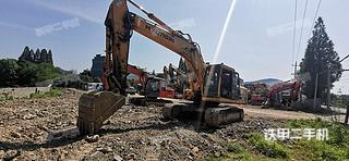 绍兴现代R225LC-7挖掘机实拍图片