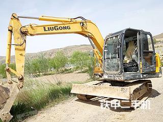 固原柳工CLG908D挖掘机实拍图片
