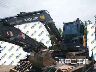 沃爾沃EC60C挖掘機實拍圖片