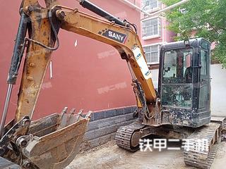 河南-周口市二手三一重工SY55U挖掘机实拍照片