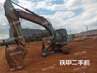 昆明神鋼SK230-6E挖掘機實拍圖片