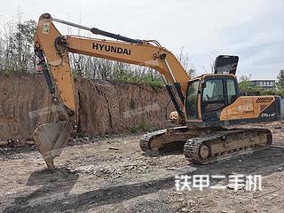 二手现代 R275LC-9V 挖掘机转让出售