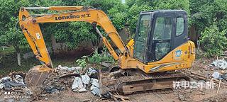 龙工LG6060D挖掘机实拍图片